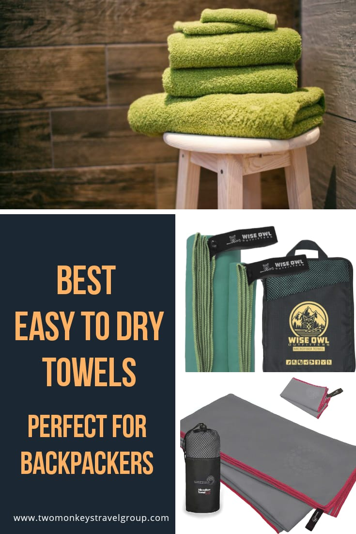 The 8 Best Easy to Dry Towels Perfect For Backpackers