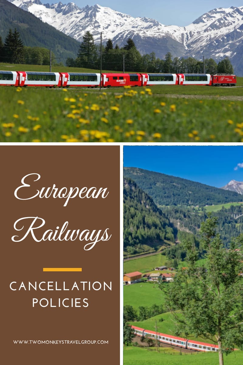 Train Travel in Europe List of European Railways and Their Cancellation Policies