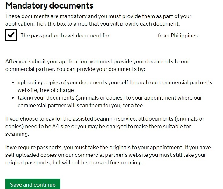 UK Visit Visa Application Guide for Philippine Passport Holders 08