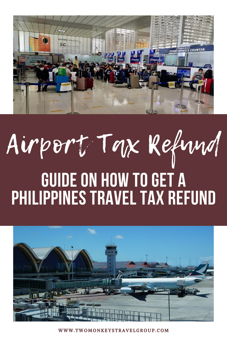 Airport Tax Refund Guide on How to Get a Philippines Travel Tax Refund