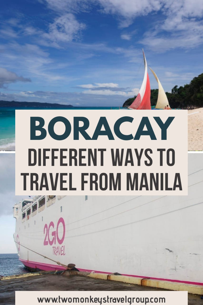 Different Ways to Travel from Manila to Boracay [How to Travel to Boracay]