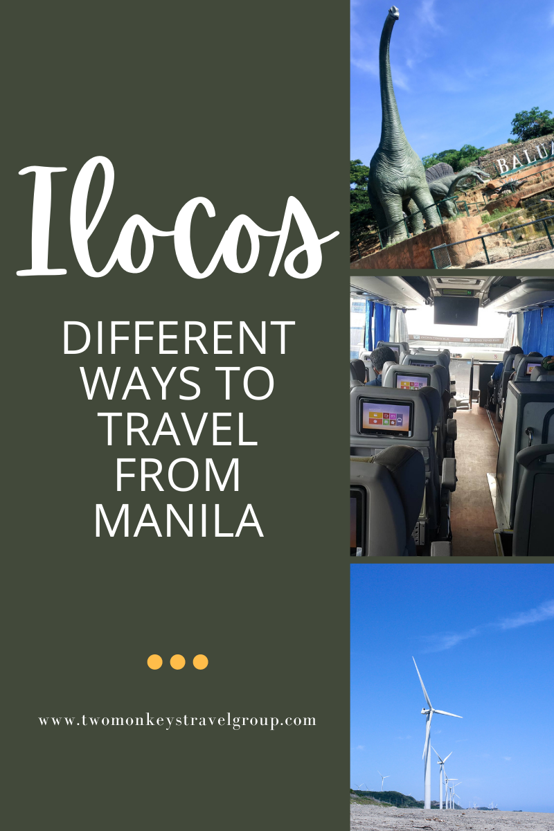 Different Ways to Travel from Manila to Ilocos [How to Travel to Ilocos]