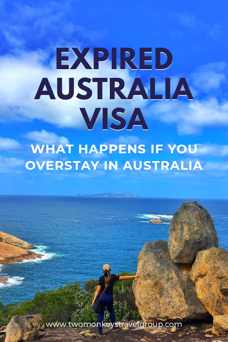 Expired Australia Visa What Happens If You Overstay in Australia