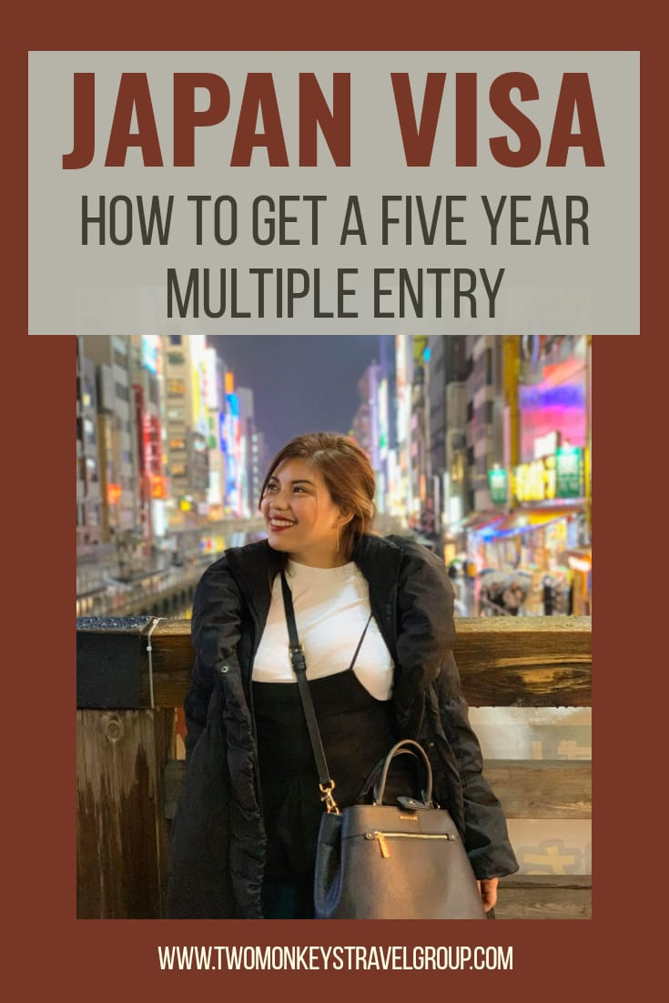 How to Get a Five Year Multiple Entry Japan Visa for Filipinos