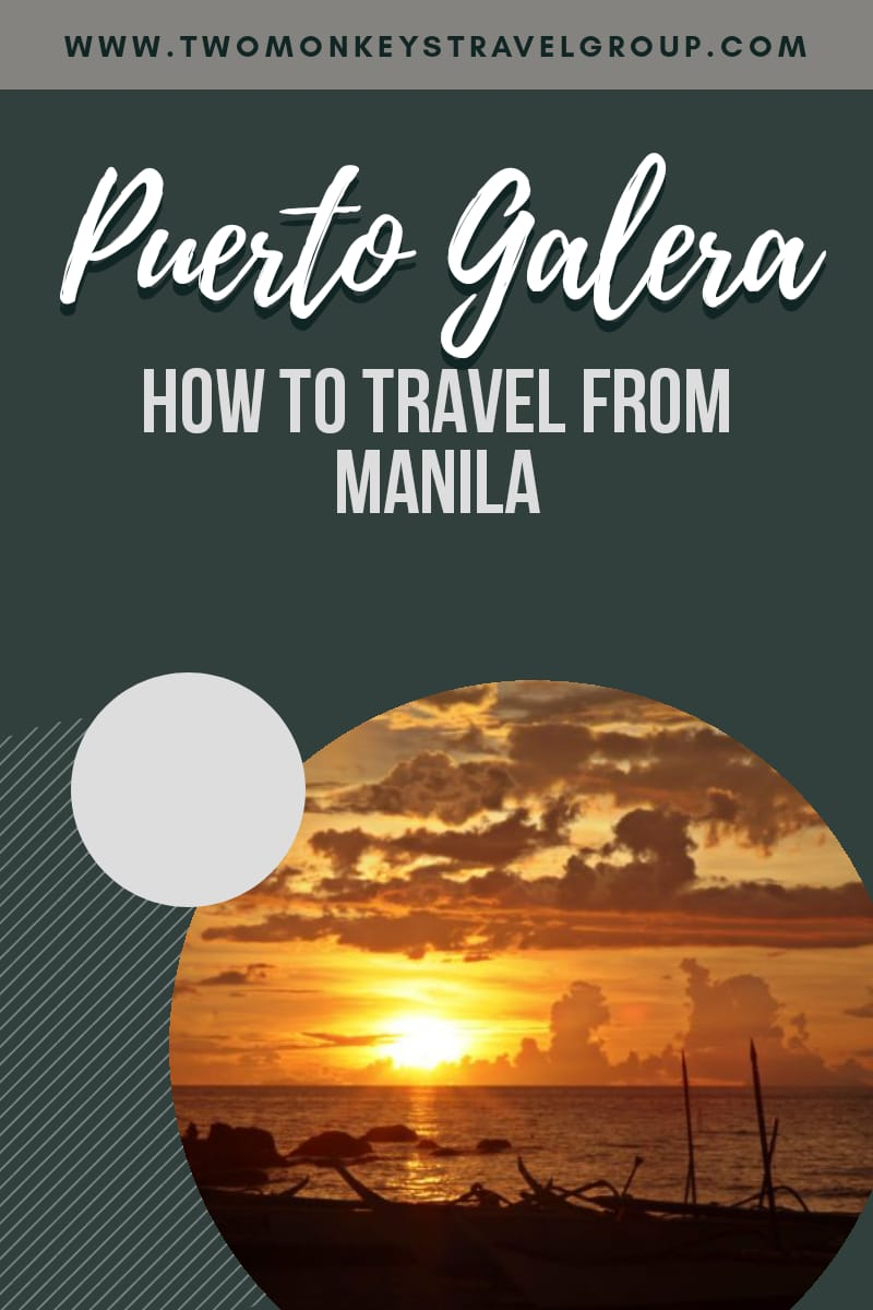 How to Travel from Manila to Puerto Galera [Via Ferry or Seaplane]