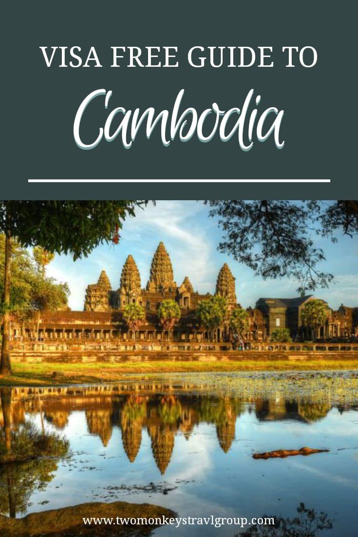 Is Cambodia Visa Free for Filipinos [Visa Free, VOA, eVisa and Visa Extension Tips]