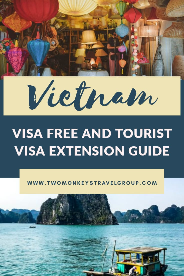 Is Vietnam Visa Free For Filipinos Requirements and Guide to Tourist Visa Extension in Vietnam
