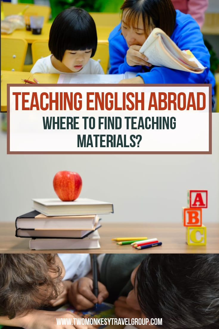 Teach English Abroad Where To Find Teaching Materials