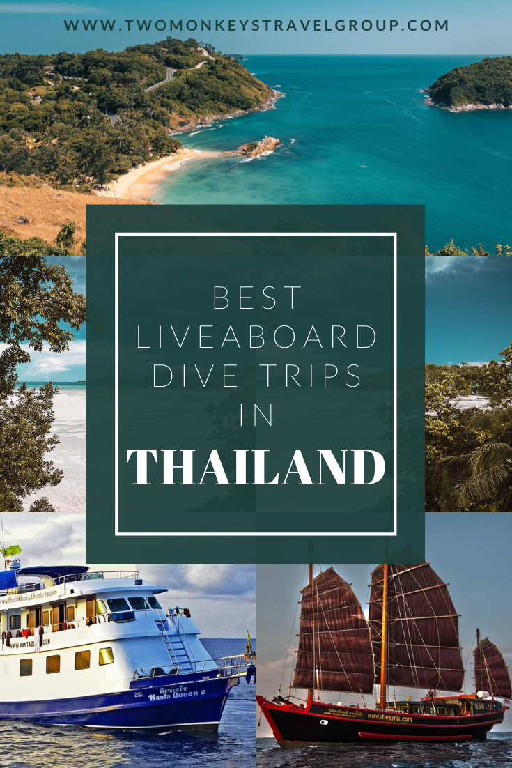 The 8 Best Liveaboard Dive Trips in Thailand
