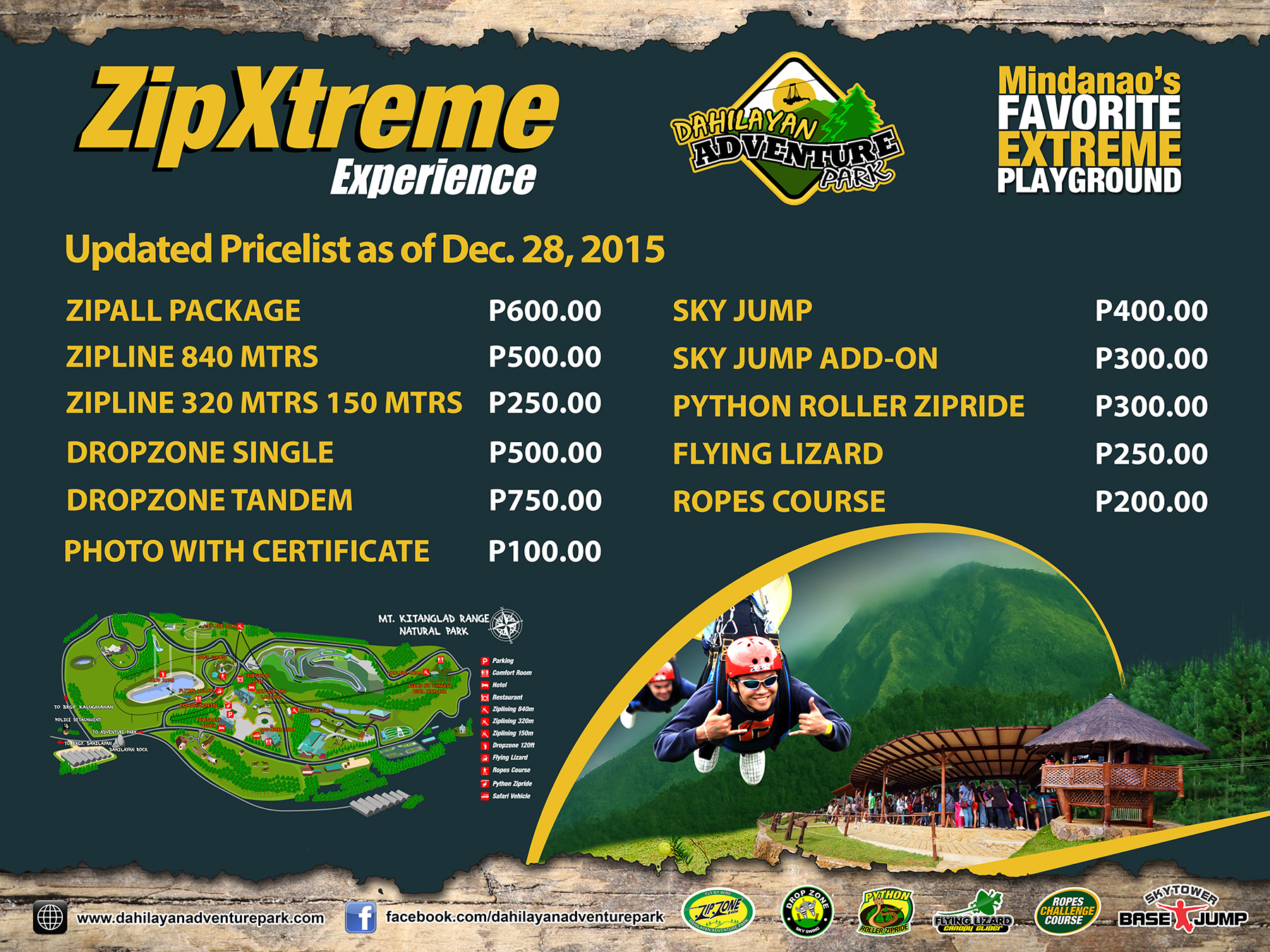 Travel Guide to Dahilayan Adventure Park, Bukidnon with Sample Itinerary 00