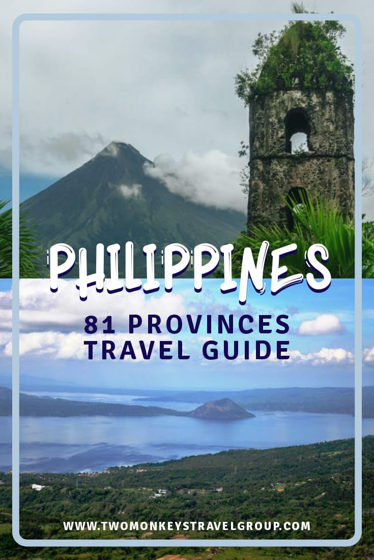 Your Travel Guide to the 81 Provinces of the Philippines