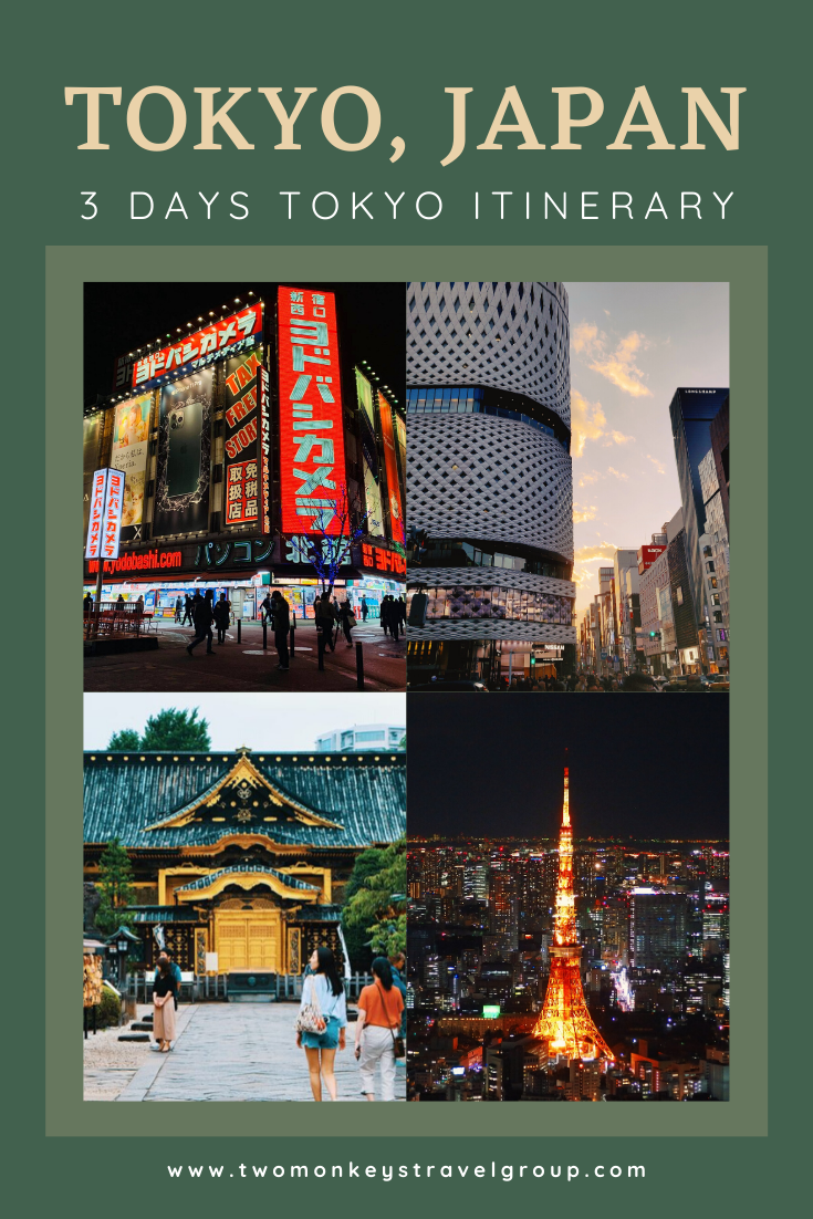 3 Days Tokyo Itinerary How to Spend 3 Days in Tokyo, Japan