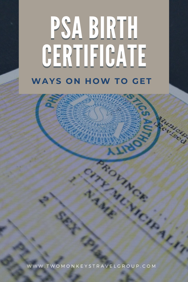 3 Ways on How to get a PSA Birth Certificate Walk In and Online for Pinoys Abroad