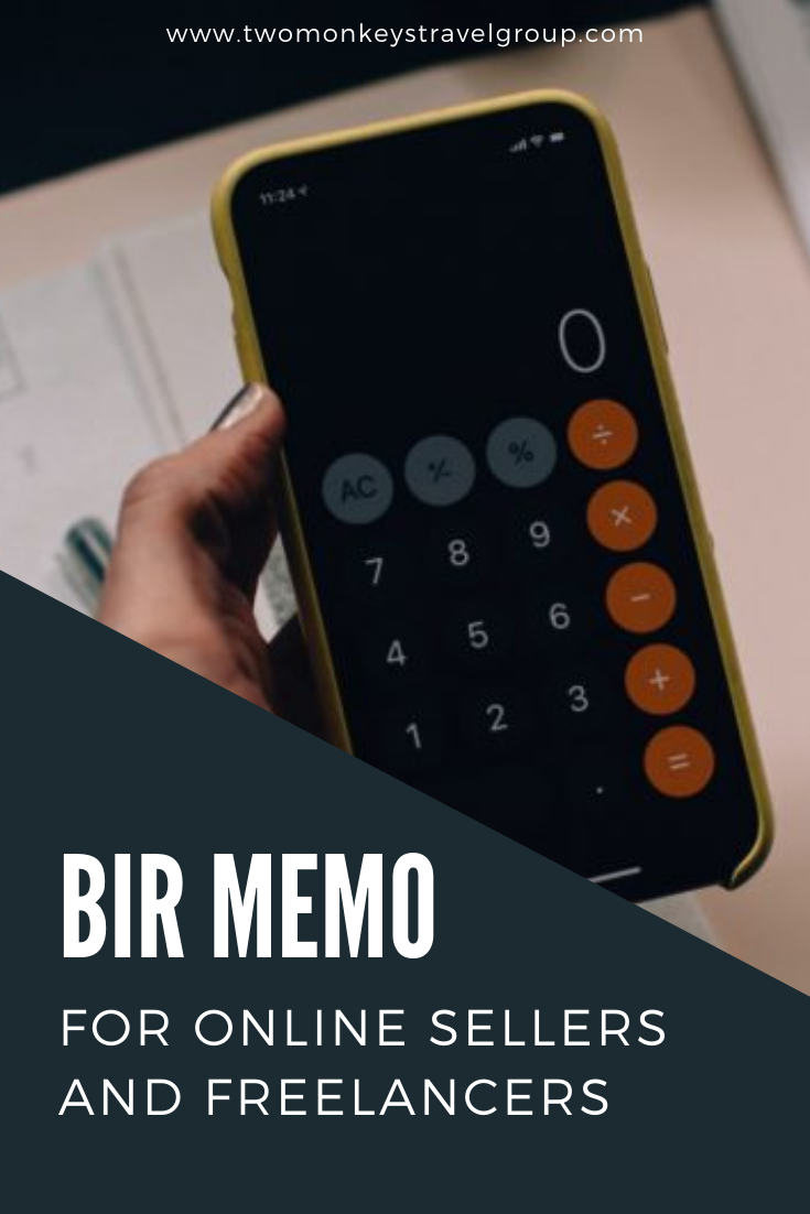 All You Need To Know About the BIR Memo for Online Sellers and Freelancers
