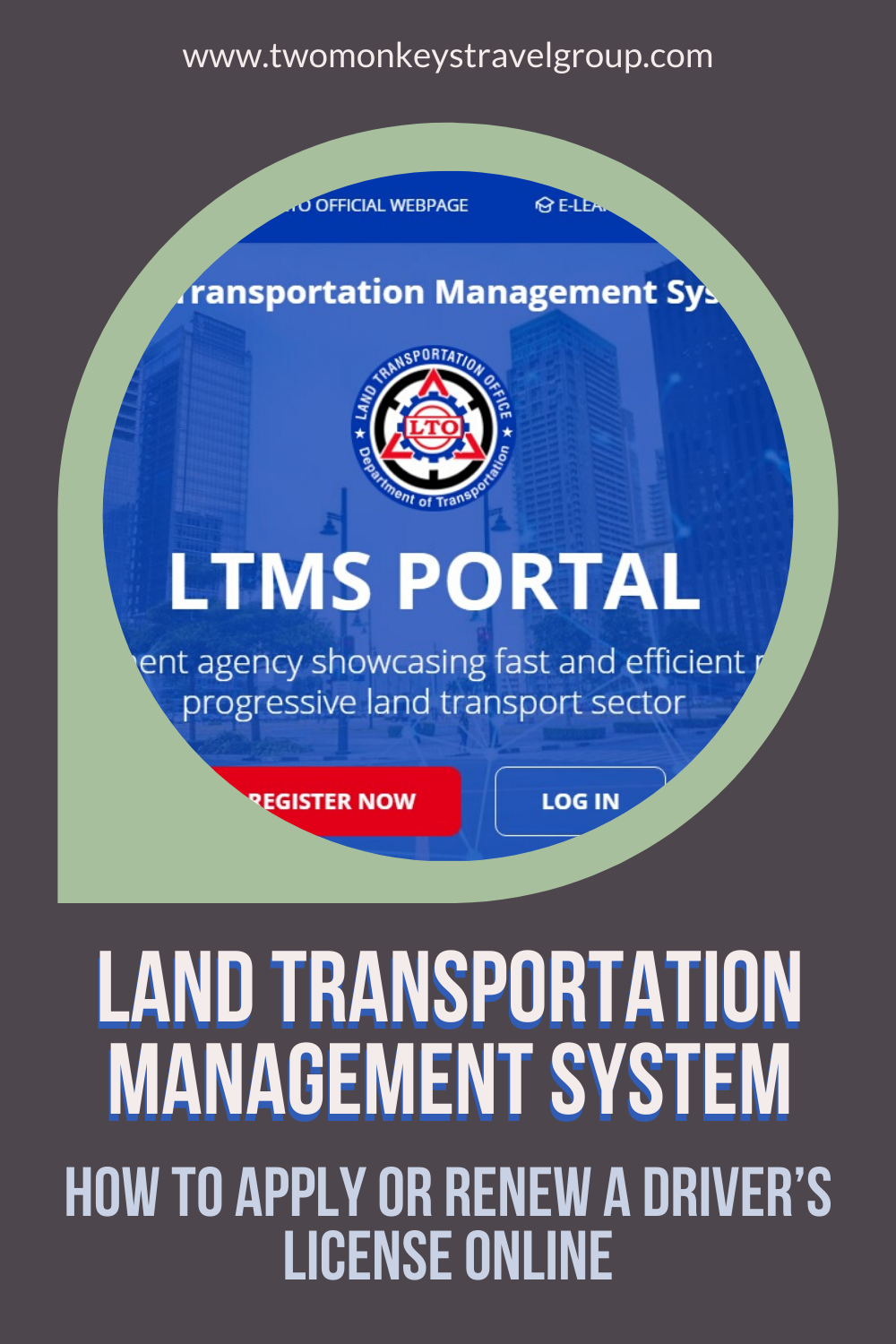 Land Transportation Management System (LTMS) - How to Apply or Renew a Philippine Driver's License Online