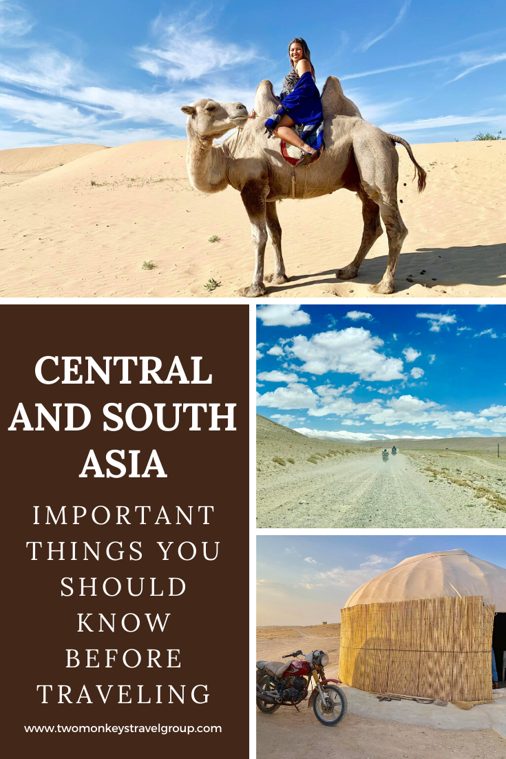 15 Important Things You Should Know Before Traveling To Central and South Asia