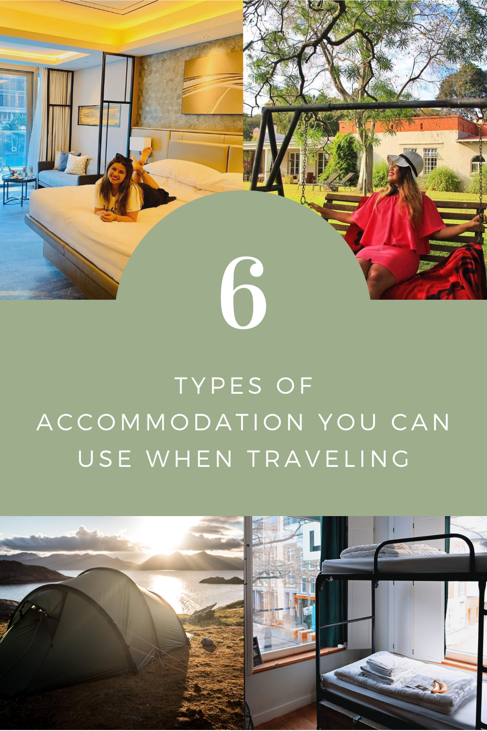 6 Types of Accommodation You Can Use When Traveling