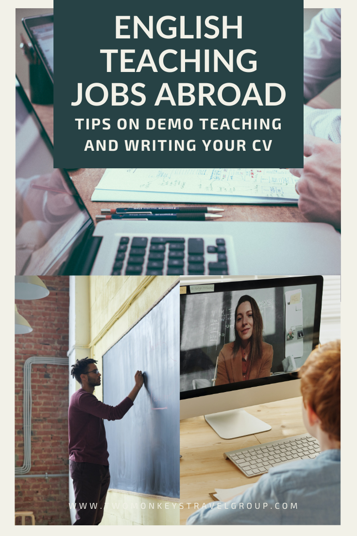 How to Find English Teaching Jobs Abroad [Tips on Demo Teaching and Writing your CV]