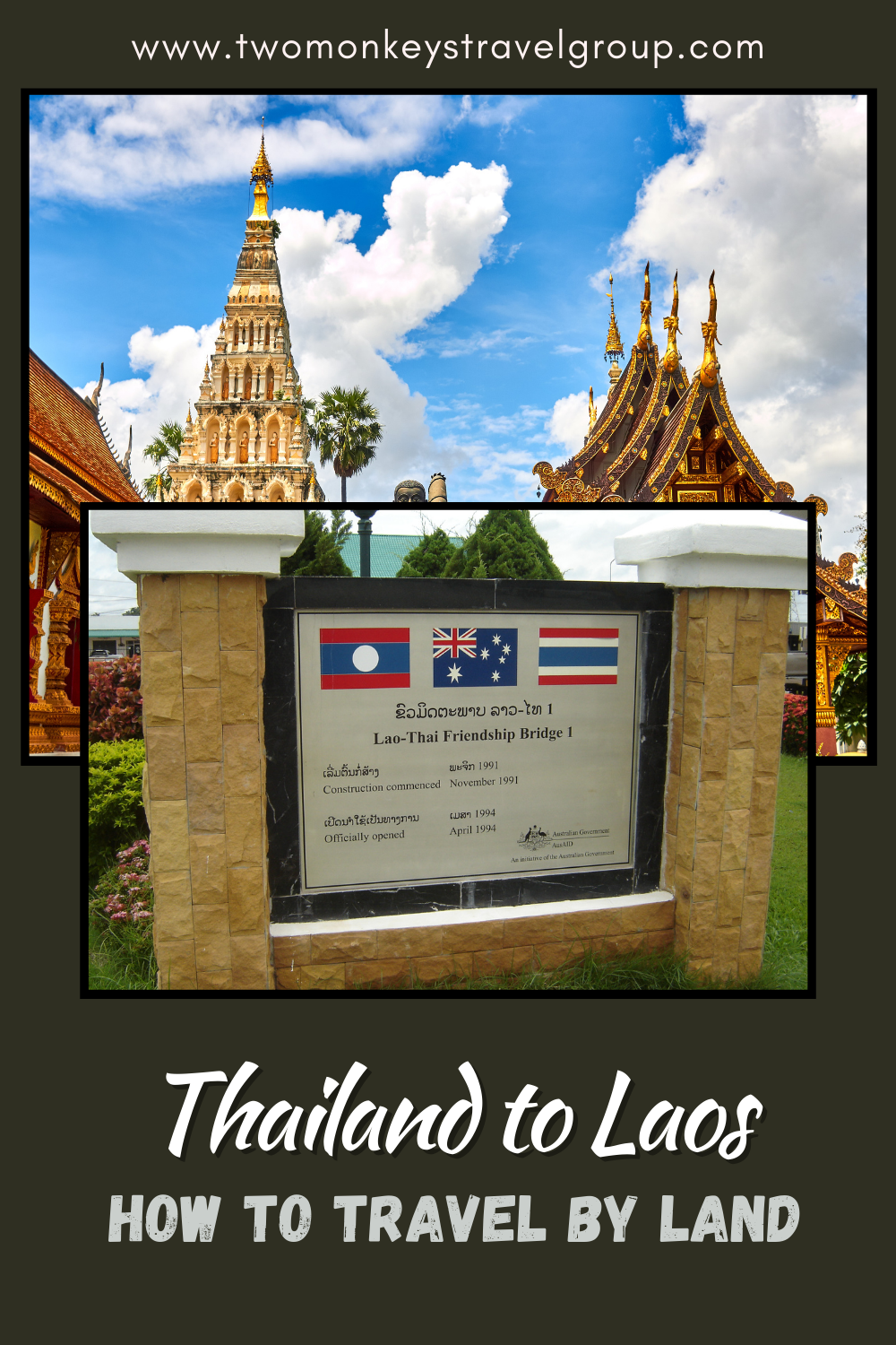 How to Travel by Land from Thailand to Laos (A Backpacker's Guide)