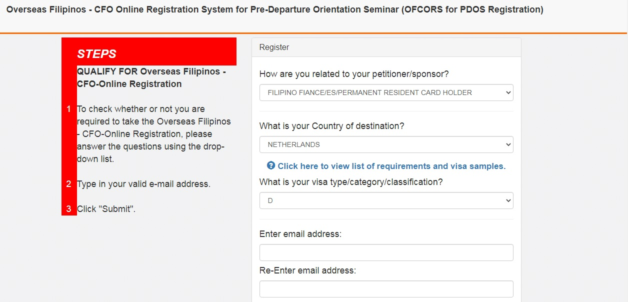 How to get a Certificate from CFO Online