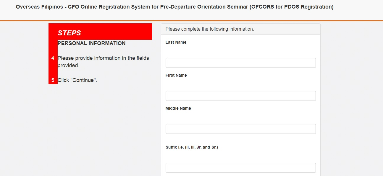 How to get a Certificate from CFO Online 03
