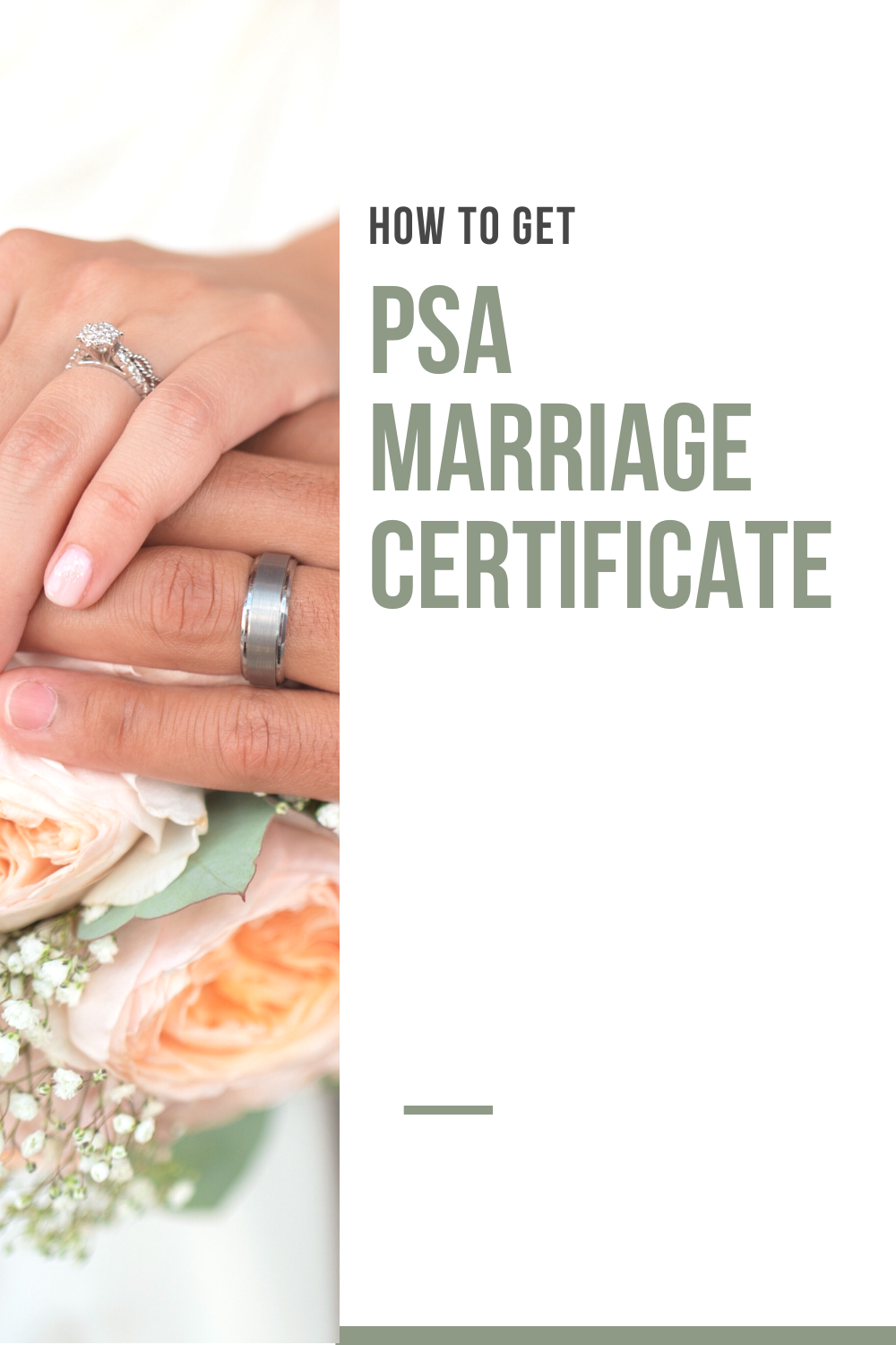 How to get a PSA Marriage Certificate