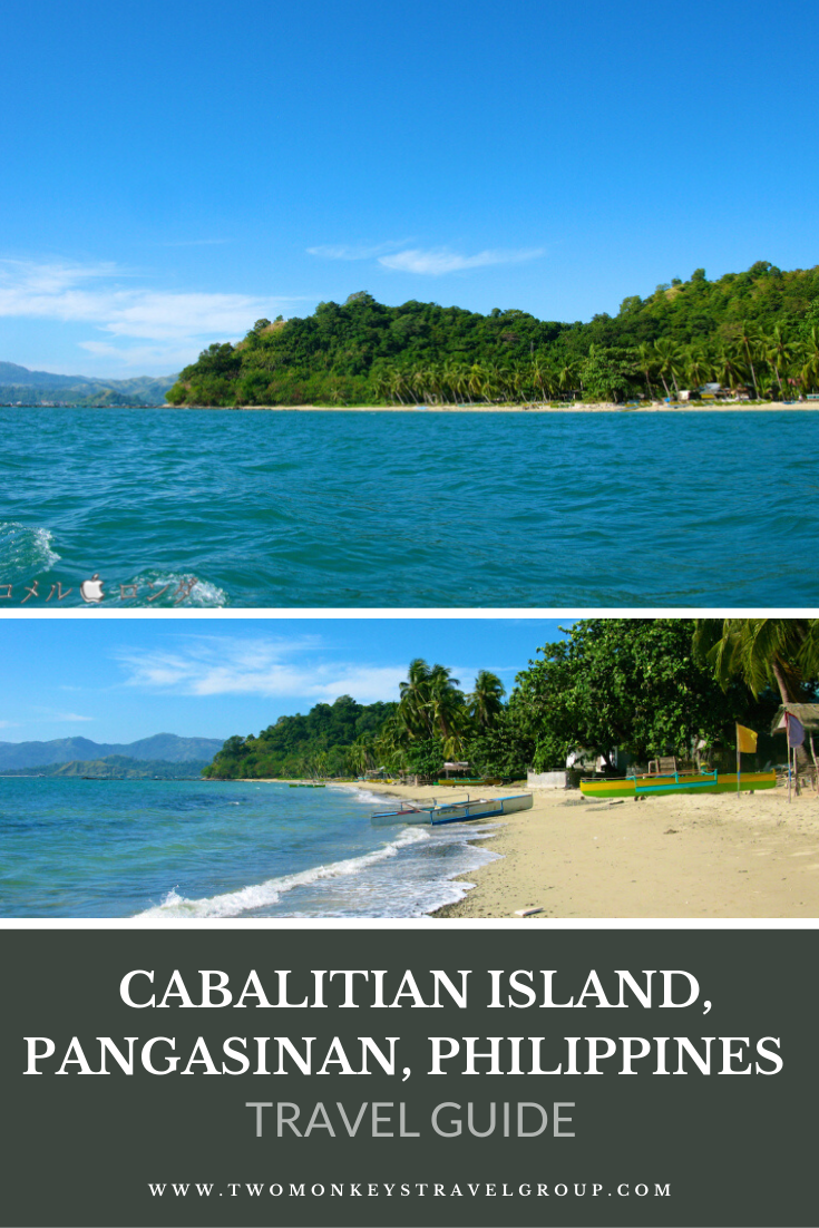 Travel Guide to Cabalitian Island, Pangasinan, Philippines with a DIY Itinerary