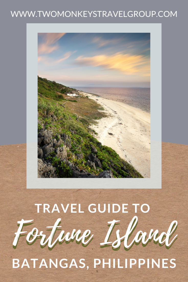 Travel Guide to Fortune Island, Batangas, Philippines (DIY Itinerary)