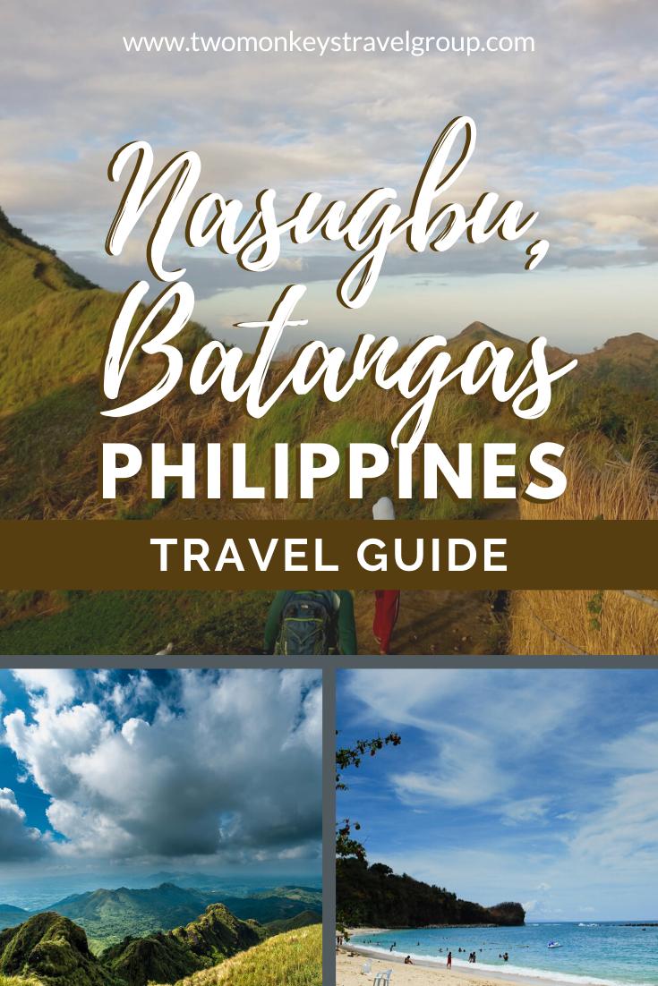Travel Guide to Nasugbu, Batangas, Philippines (Beaches & Mt. Batulao)