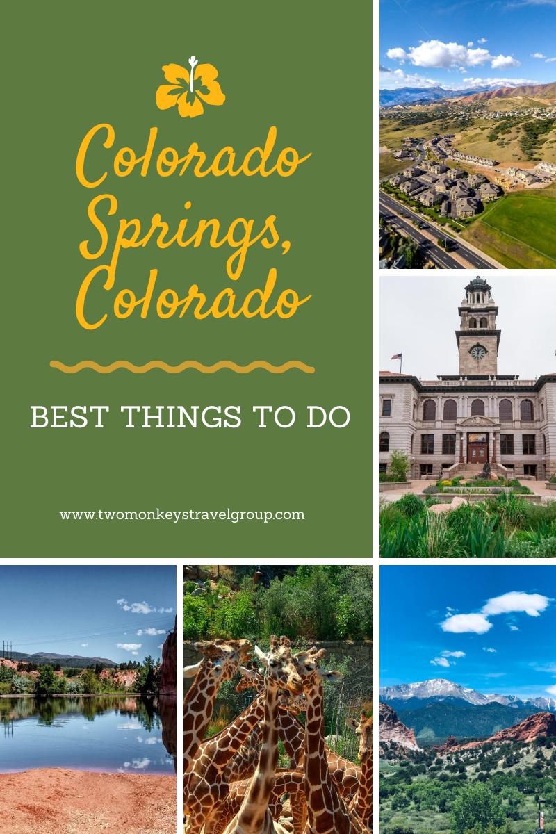 15 Best Things To Do in Colorado Springs, Colorado [Weekend DIY Itinerary to Colorado Springs]