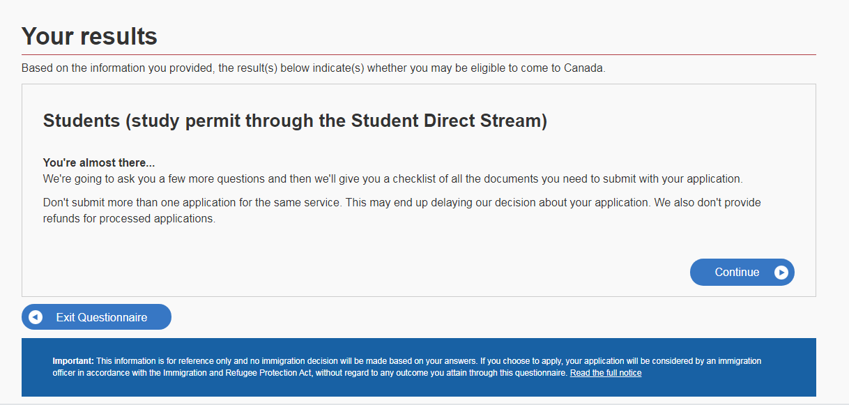 Apply for a Study Permit through Student Direct Stream in the Philippines 05
