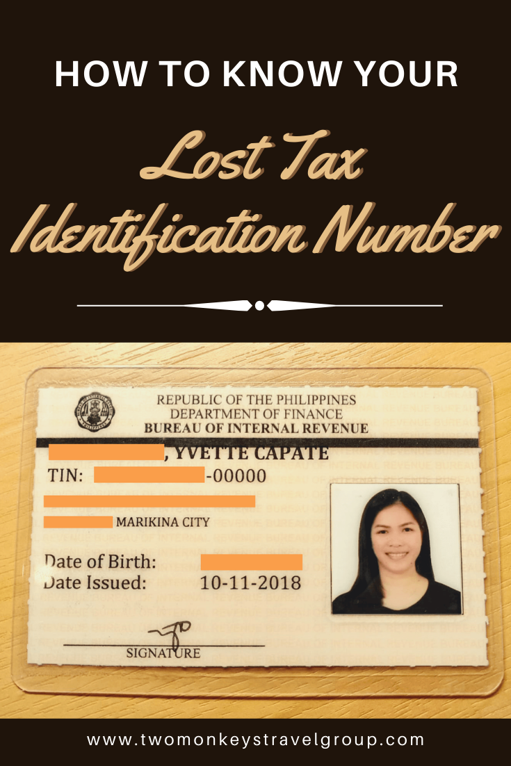 Finding TIN – How to know your Lost Tax Identification Number
