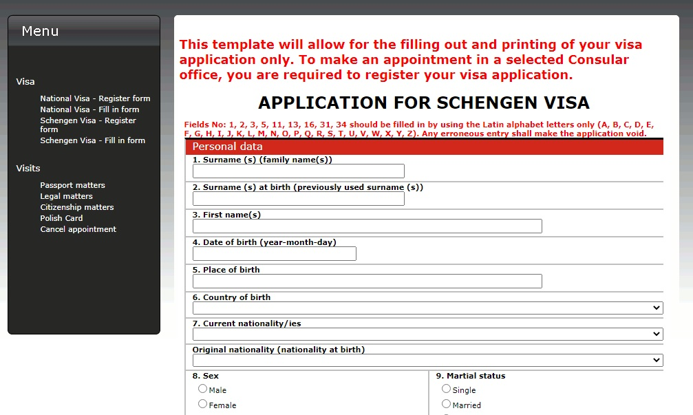 How to Apply for Poland Schengen Visa with your Philippine Passport