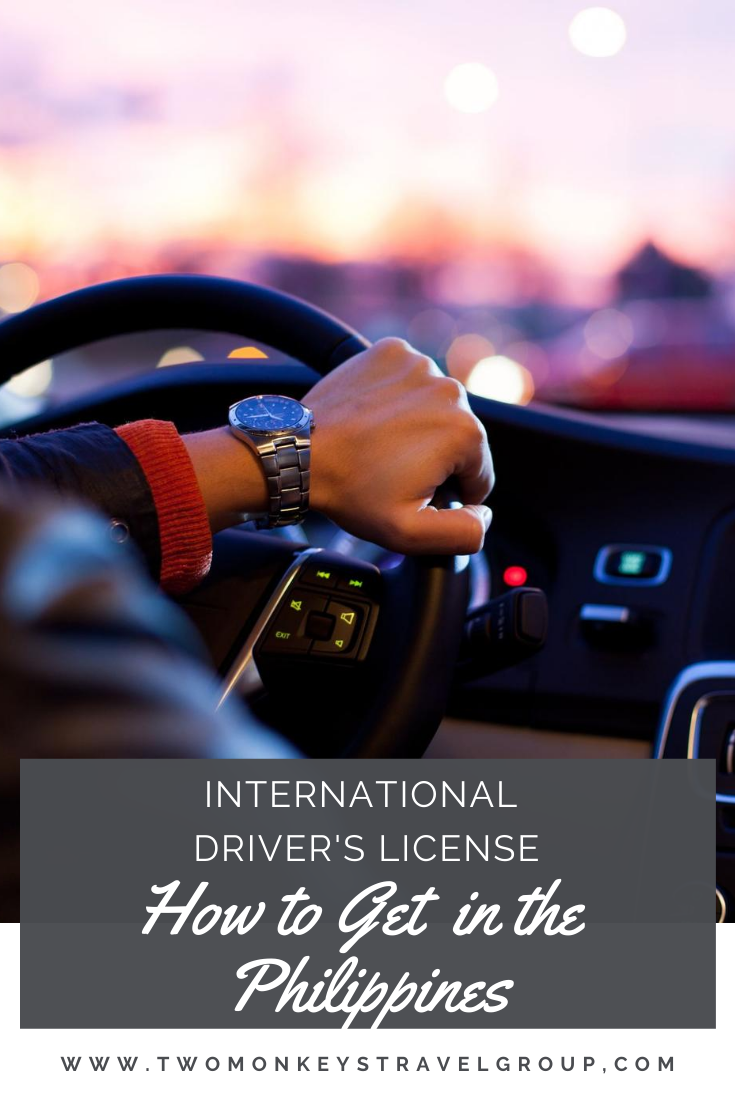 How to Get an International Driver's License in the Philippines