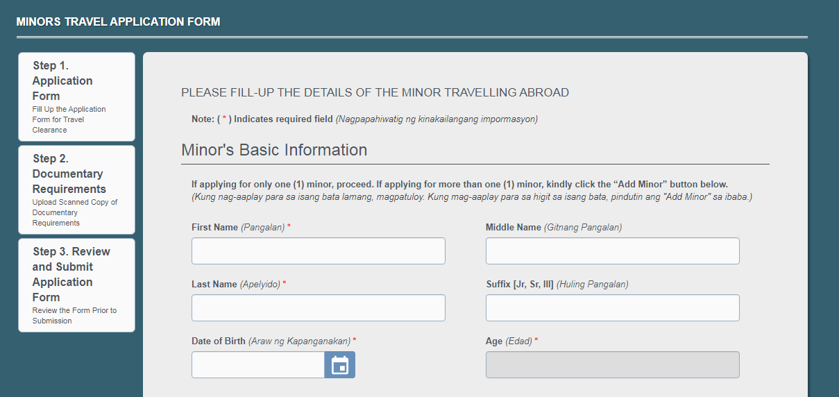 How to get a DSWD Travel Clearance Online for Minors