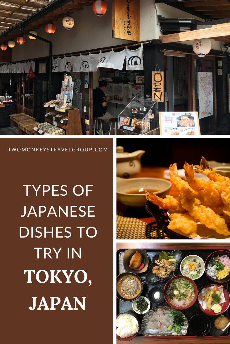 Japanese Cuisine 12 Types of Japanese Dishes To Try in Tokyo
