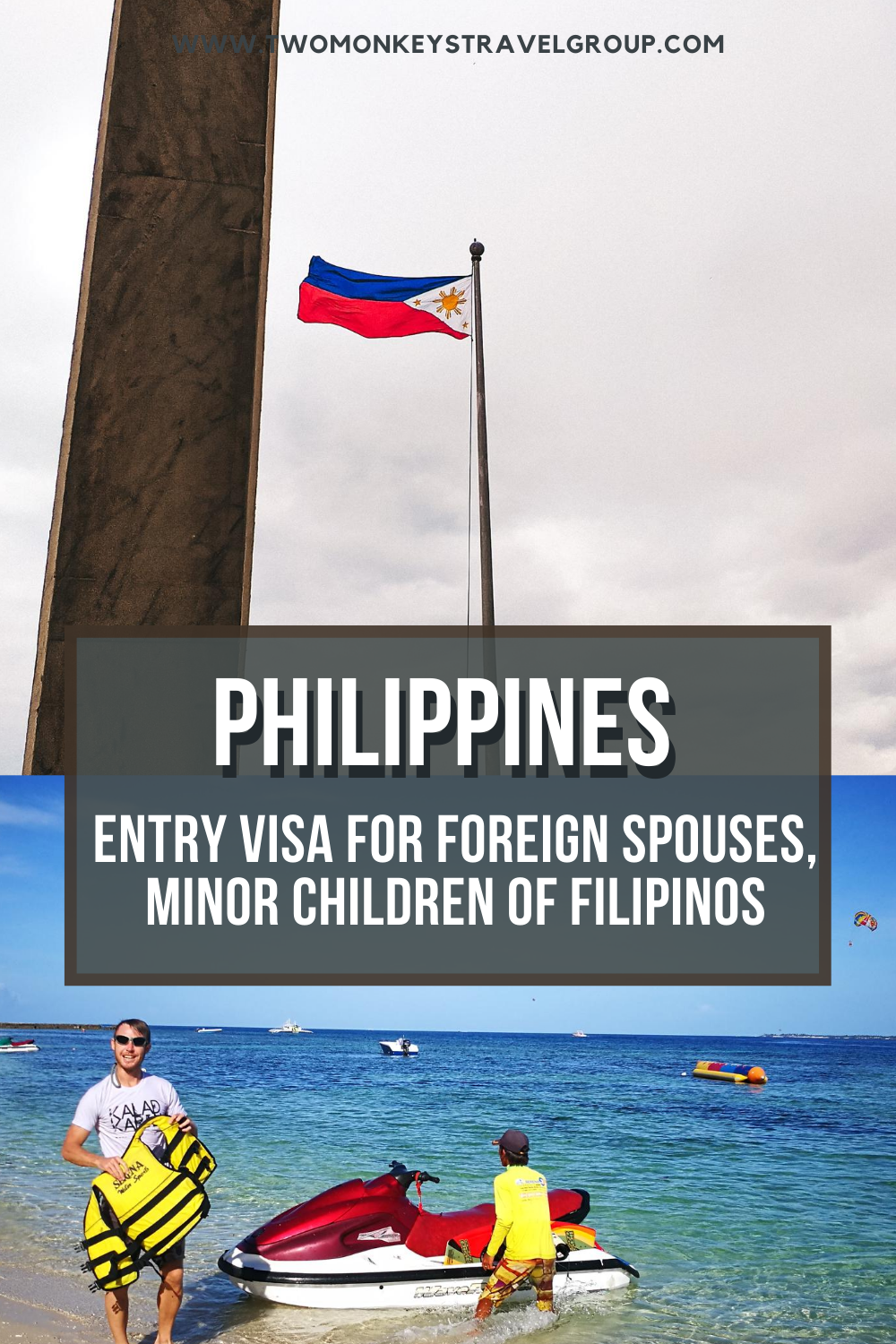 Philippines Entry Visa for Foreign Spouses, Minor Children of Filipinos