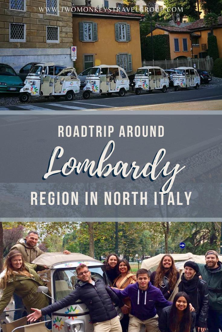 Roadtrip around Lombardy, Region in North Italy Tuktuk in Lombardia