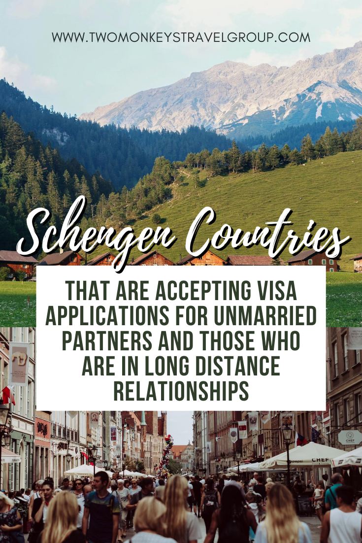 Schengen Countries That Are Accepting Visa Applications for Unmarried Partners and Those Who Are in Long Distance Relationships
