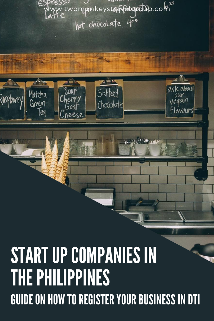 Start Up Companies in the Philippines - How to Register your Business in DTI