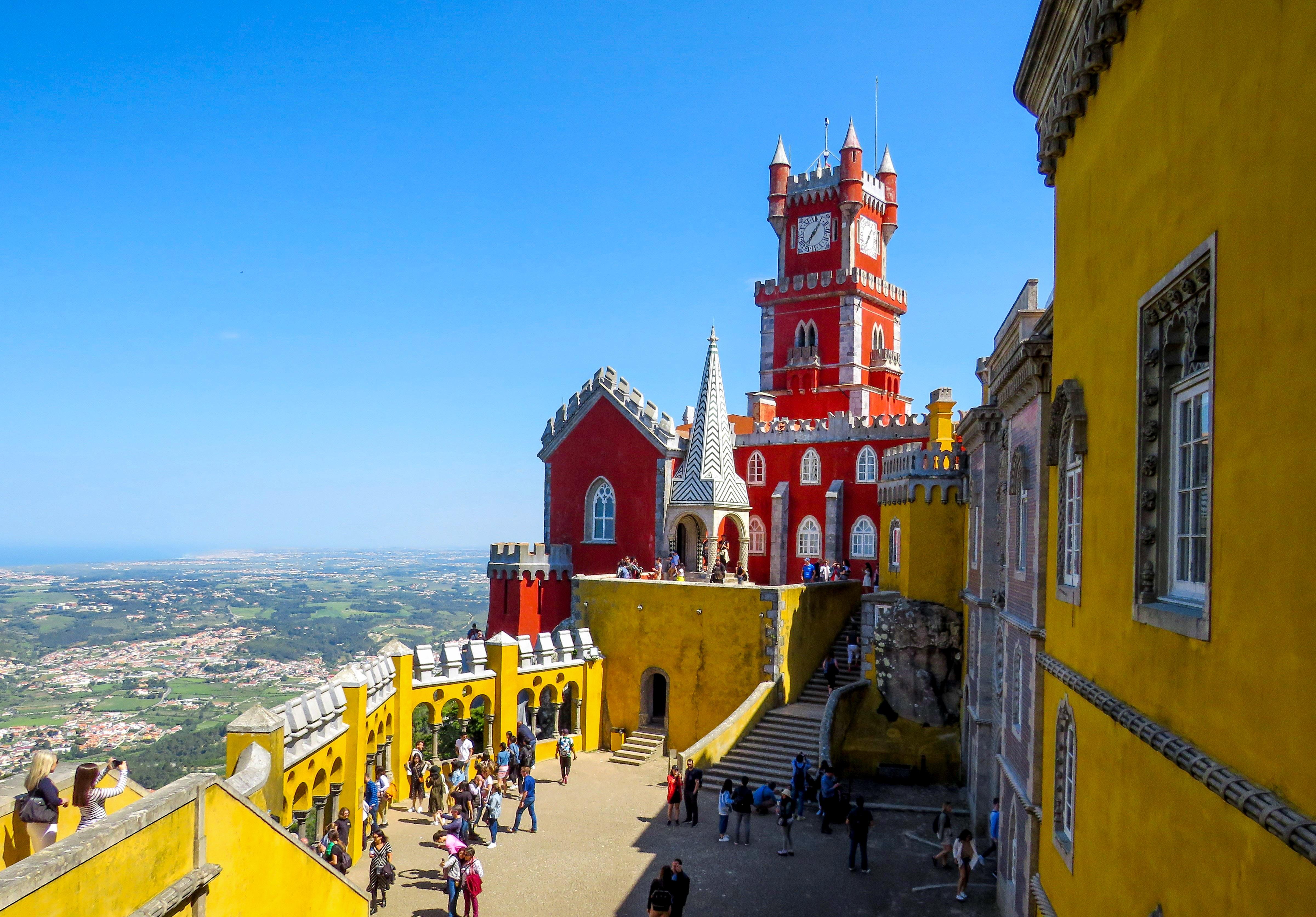 Parque y Palacio Nacional de Pena