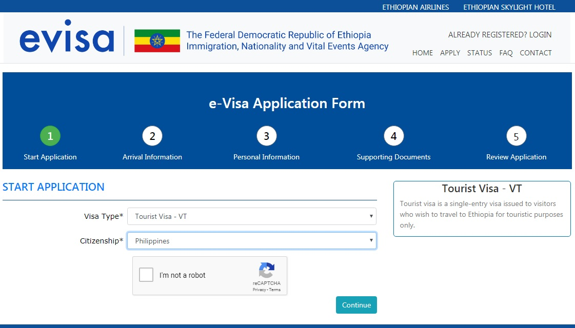 How to Get an Ethiopia EVisa for Filipinos and Other Nationalities