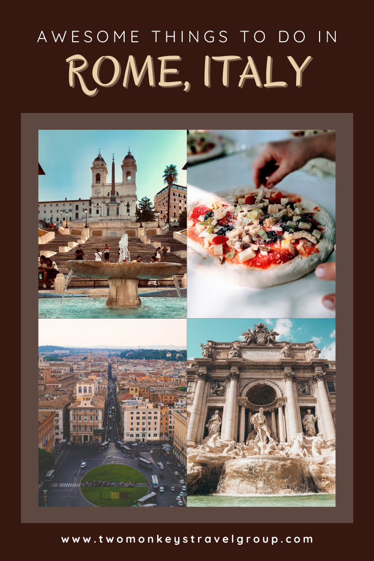 10 Awesome Things To Do in Rome, Italy [with Suggested Tours]