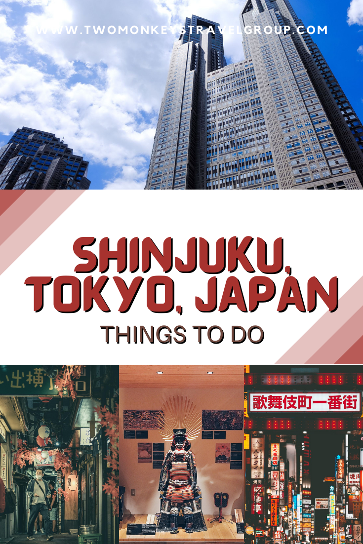 10 Things to do in Shinjuku, Tokyo, Japan [with Suggested Tours]