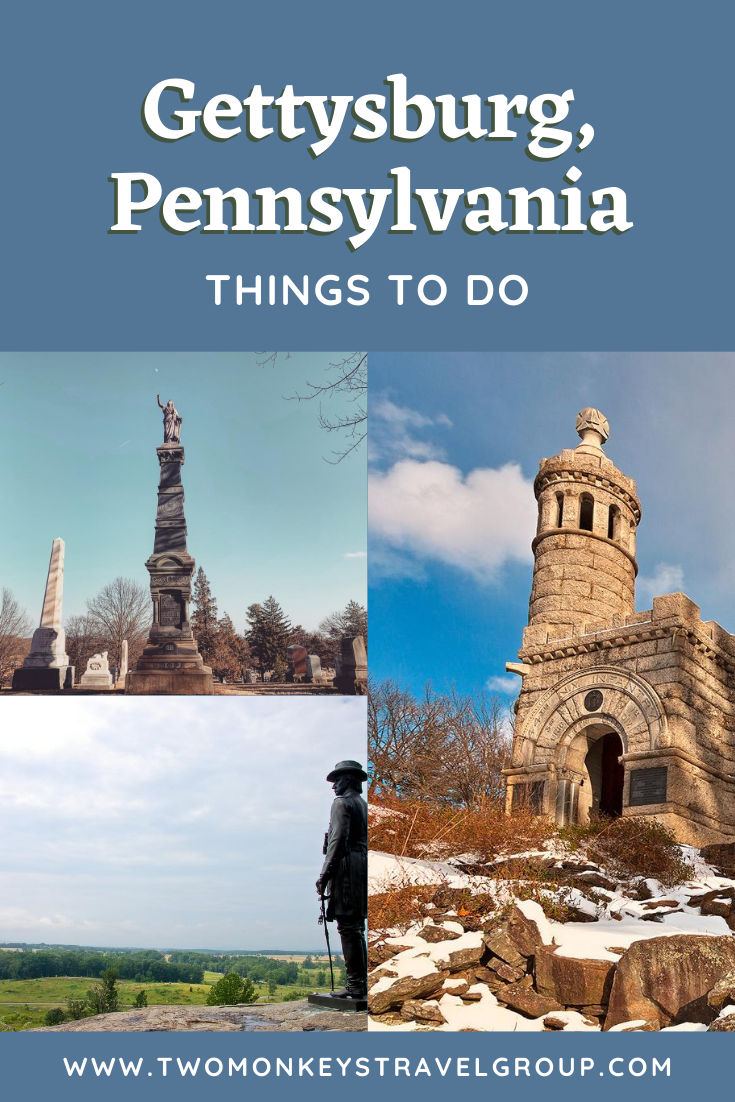 15 Things to do in Gettysburg, Pennsylvania [With Suggested Tours]