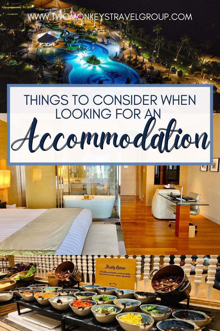 4 Things to Consider When Looking for an Accommodation