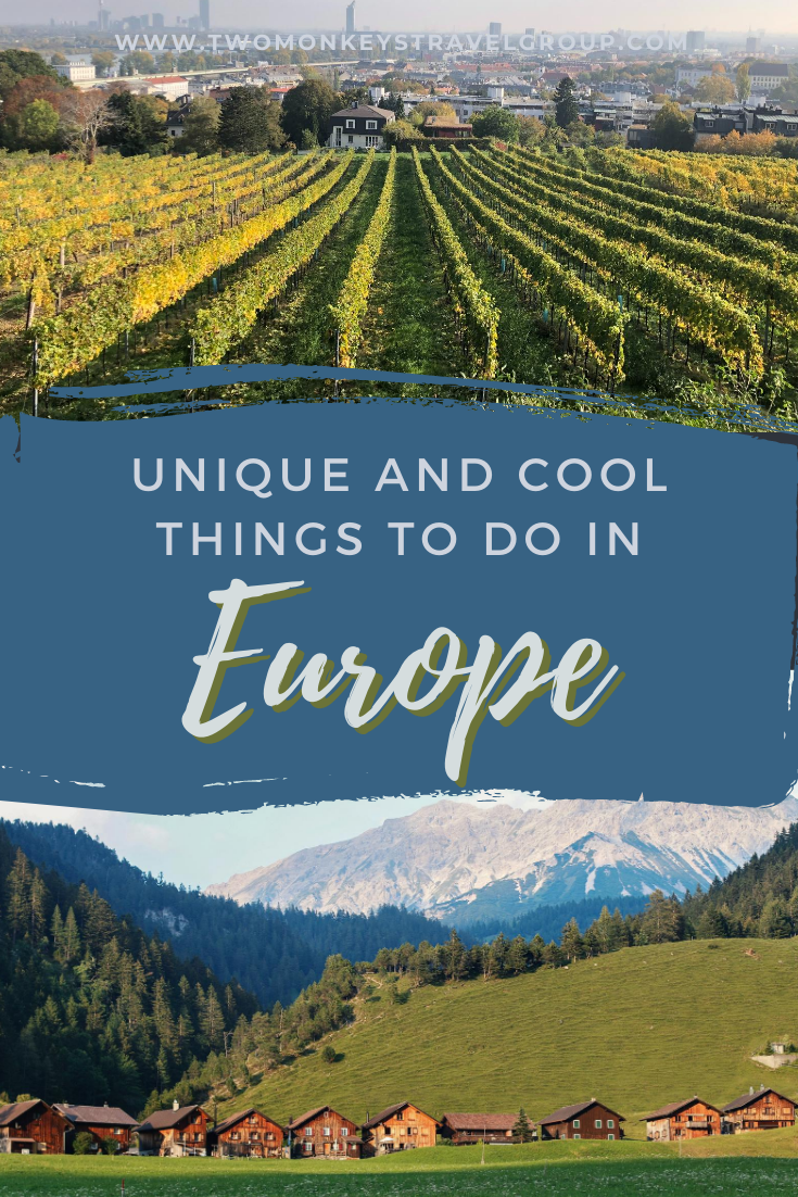 6 unique and cool things to do in Europe [With Photos]
