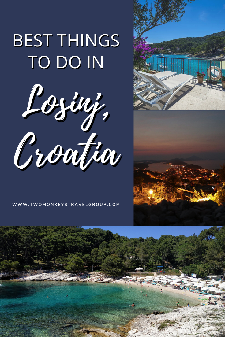 8 Best Things to do in Losinj, Croatia and Where To Stay
