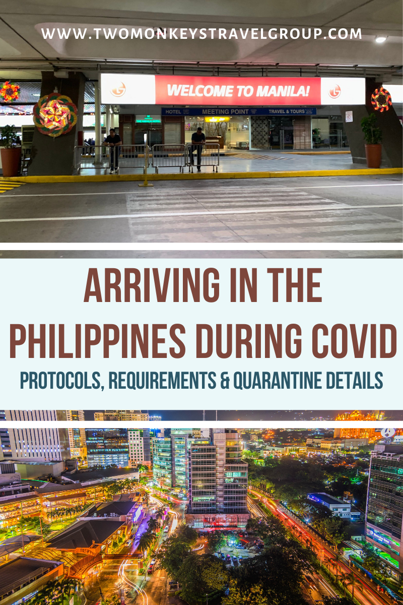 Arriving in the Philippines During Covid - Protocols, Requirements & Quarantine Details