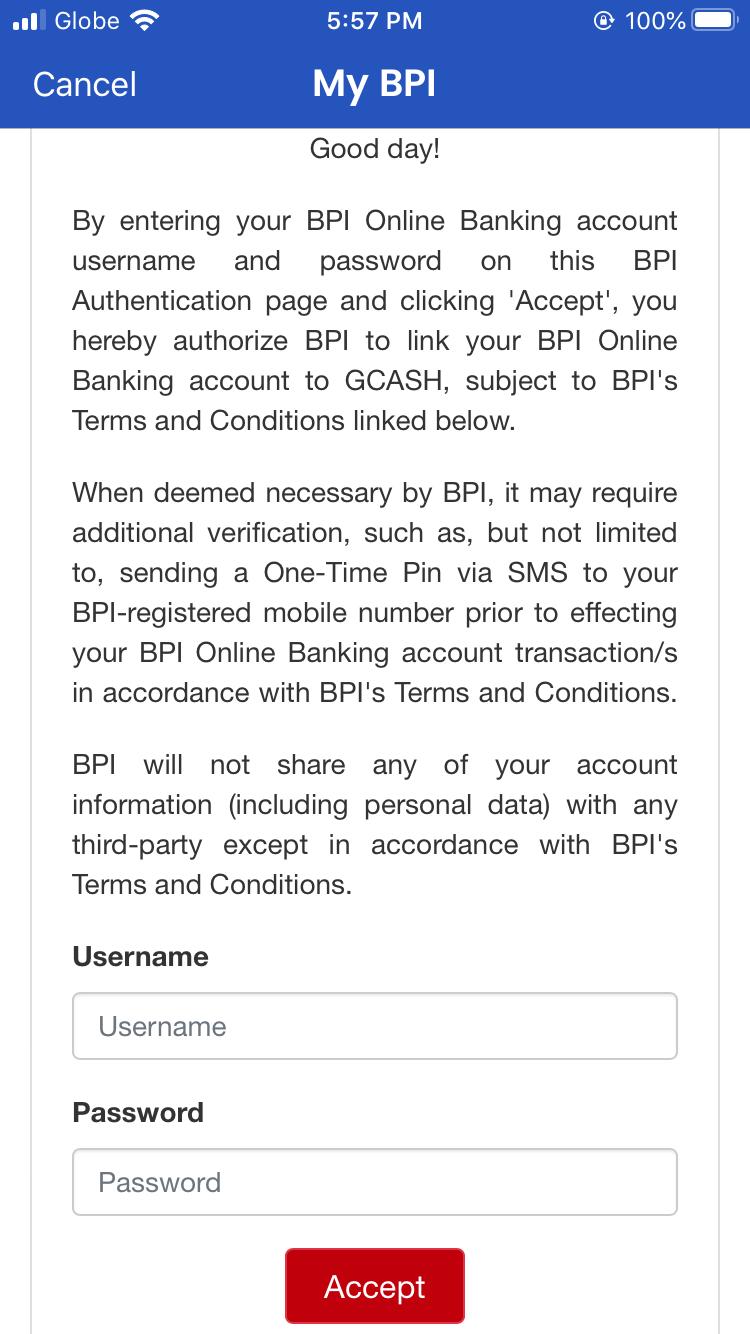 BPI to GCash (Transferring Money from your BPI Bank Account to GCash) 04